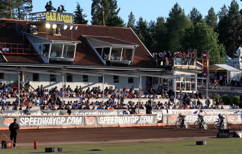 Stort Speedway Slag I Småland